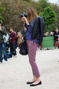 Come indossare i pantaloni a sigaretta (Foto 4/35) | PourFemme