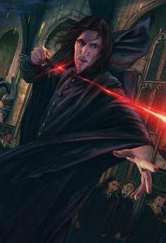 Classe Harry Potter, Arte Do Harry Potter, Harry Potter Severus Snape, Harry Potter Artwork, Harry Potter Universal, Harry Potter Characters, Harry Potter World, Professor Severus Snape, Severus Rogue