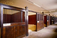 Beaufort Hunt Stables If we want our horses to stand in stalls, this is how the stalls should be bedded!