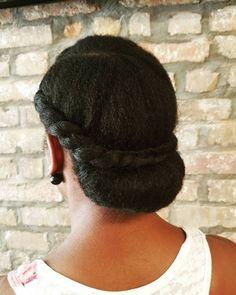 Natural Hair Haircuts, Protective Hairstyles For Natural Hair, Natural Hair Updo, Natural Hair Styles, Long Haircuts, African Hairstyles, Easy Hairstyles, Wedding Hairstyles, Black Hairstyles