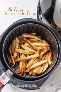 Our Homemade Air Fryer Fries are really easy to cook at home. It's a quick and simple recipe for all the family to enjoy.