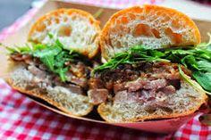 Porchetta Sandwiches with Sauteed Garlic Kale [Made October 2014]