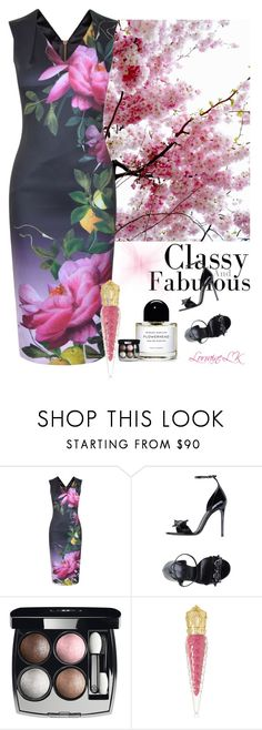 """""""Classy & Fabulous"""" by lorrainelk ❤ liked on Polyvore featuring Ted Baker, Gucci, Chanel and Christian Louboutin"""
