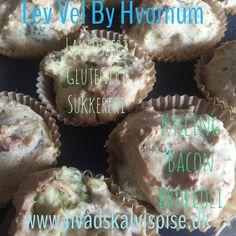 Mad muffins med Kylling og bacon – Glutenfri.