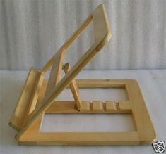 Woodworking Projects That Sell .Woodworking Projects That Sell Book Holder Stand, Book Holders, Book Stands, Woodworking Crafts, Woodworking Plans, Youtube Woodworking, Unique Woodworking, Woodworking Projects For Kids, Woodworking Supplies