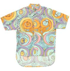 Stussy - Men's Short-sleeved Button-down Shirt - 1990's
