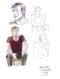 Sketches 4 of 4 of @BenHatke at @takoma #ipad #procreate