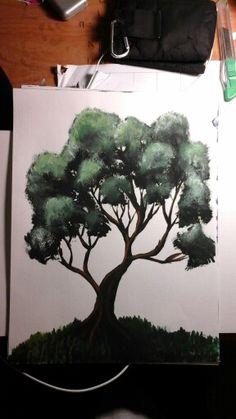 Tree My Arts, Painting, Painting Art, Paintings, Paint, Draw