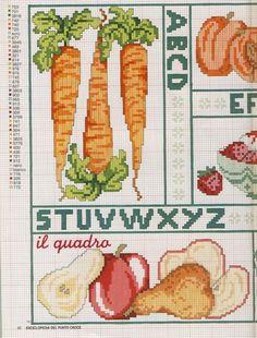 Gallery.ru / Фото #1 - EnciclopEdia Italiana Frutas e verduras - natalytretyak