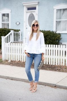An Ode to High Rise Jeans