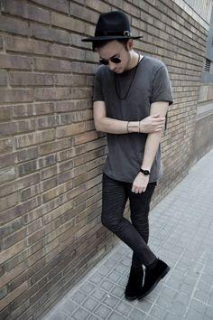 Look grunge disponible en www.jotahoma.es #blog #moda #modahombre