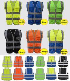 Hign visibilité gilet de sécurité réfléchissant polyester tricoté gilet réfléchissant livraison gratuite dans Hauts de Nouveauté et une utilisation particulière sur AliExpress.com | Alibaba Group