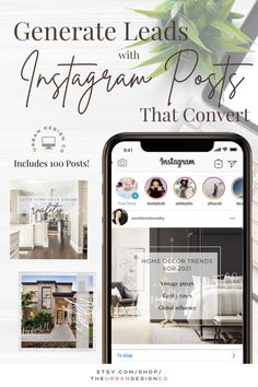 If you are looking to up your game when it comes to real estate social media marketing - this is the pack for you. These beautifully designed templates are super easy to use... just type in your own information and add your own listing photos.. and voila - you've got instant social media posts! I mean, does it get any easier than that? This listing has 100 beautifully designed templates that can be used over and over for either Facebook posts or Instagram posts. Real Estate Marketing, Social Media Marketing, Real Estate Templates, Real Estate Buyers, Social Media Template, Lead Generation, Home Decor Trends, Home Buying, Free Photos