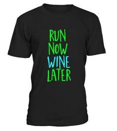 8ba6a370f Funny Running Shirt Run Now Wine Later Drinking Training Gym #Shirts  #PilatesShirts Funny Running