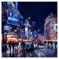 London at Night by Henderson Cisz