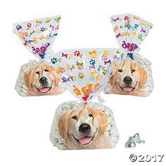 Doggy Bag Cellophane Bags  12 pc