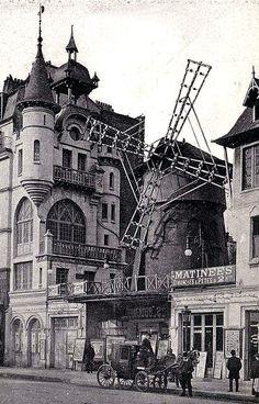 Moulin Rouge, place Blanche a Montmartre, Paris en can find Montmartre paris and more on our website.Moulin Rouge, place Blanche a Montmartre, Paris en Montmartre Paris, Toulouse, Vintage Pictures, Old Pictures, Old Photos, Paris Pictures, Paris Photos, Paris 1900, Old Paris