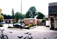 Wit-Gelekruisgebouw: Kerkstraat, met rechts cafe Lambiek.
