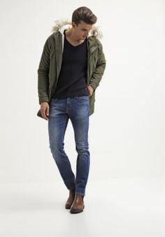 Tommy Hilfiger - DENTON - Straight leg jeans - light blue