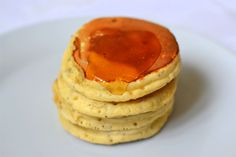 Lemon and Chia Pancakes