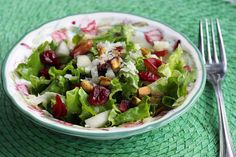 The Signature Salad - with pistachios, crazins and gorgonzola