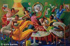 """Window Wishing"" by Ernie Barnes Art gives me life"