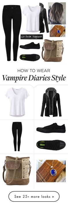 """Untitled #970"" by samantha1-a on Polyvore featuring prAna, LE3NO, Converse and RIPNDIP"