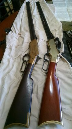 old yellow boy Weapons Guns, Guns And Ammo, Henry Rifles, Cowboy Action Shooting, Lever Action Rifles, The Lone Ranger, Hunting Rifles, Firearms, Shotguns