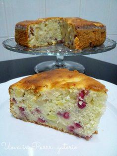 Torta di mela e melagrana | Uova in Purrr…gatorio