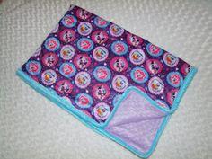 My Little Pony MINKY Blanket  Ships in 1-3 by tarascozycreations