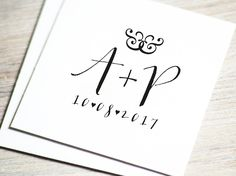 Give your wedding stationery a personal touch with custom wedding logo. This premade monogram will be personalized with your initials and date. You can use it in your own printable or digital projects, such as invitations, tags and stationery. ::: HOW IT WORKS ::: • Please specify the following when ordering (Name, wedding date, color). • Once payment and ordering information are received, your logo will be customized and sent. Please, allow up to 48 hours for delivery of files. • Want to…