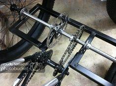 Fat Trike Build | The UNDERGROUND! Bicycle Cart, Trike Bicycle, Recumbent Bicycle, Mini Jeep, Mini Bike, Bike Cargo Trailer, Cargo Bike, Gas Powered Bicycle, Recycled Bike Parts