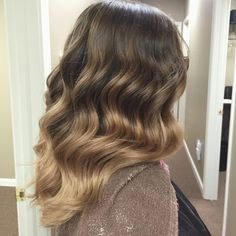 Balayge ombre done by me!