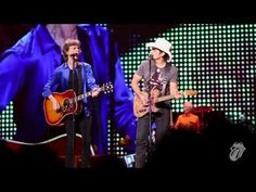 The Rolling Stones & Brad Paisley - Dead Flowers - Live in Philadelphia - YouTube. /Mick, of course. -/md
