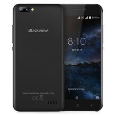 5cf0a8e51a2 Blackview A7 3G Smartphone Android 7.0 5.0 inch Original IPS Screen  MTK6580A 1.3GHz Quad Core 1GB RAM 8GB ROM 0.3MP Mobile Phone-in Mobile  Phones from ...