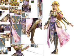 Hyrule Warriors - Zelda Cosplay Guide by LeriSuccubus.deviantart.com on @DeviantArt