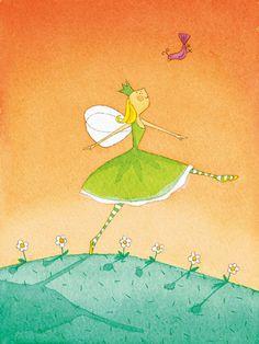 Felicity Wishes IV Art Print by Emma Thomson
