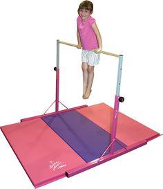 Nastia Liukin Jr. Bar & Mat Combo // Gymnast Gift Guide