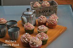 Cupcakes de vainilla y frosting de chocolate | Maite's Sweet Food