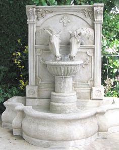 Sharing a Drink Fountain (Fiberglass)