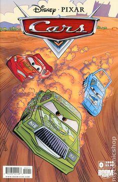 Cars (2009 2nd Series Boom Studios) 0A disney pixar comics cover