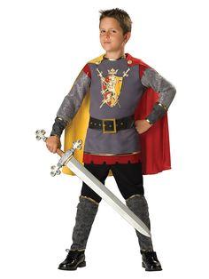 Child Loyal Knight Costume | Boys Renaissance Costumes