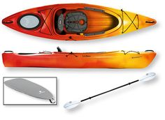 Manatee Deluxe Kayak Package: Recreational at L.L.Bean    Tim and I both want this!!!