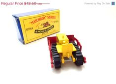 ON SALE Matchbox series diecast vintage by TimelessToyBox on Etsy, $10.00