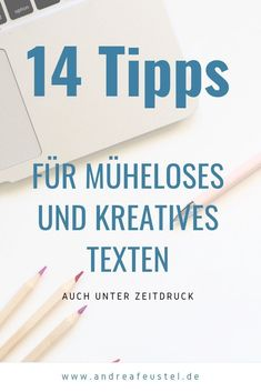 Schreibblockaden überwinden – 14 Tipps für entspanntes Texten You are under pressure and a really good text for the web has to come out. Then these tips will surely help you – to overcome writer's blocks and write creatively. Social Media Marketing Business, E-mail Marketing, Internet Marketing, Online Marketing, Affiliate Marketing, What Is Content Marketing, Marketing Approach, Writing A Book, About Me Blog