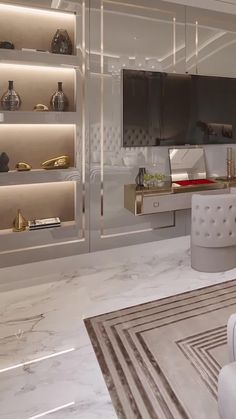 Fine big bedroom design videos for a dreamhome interior for master bedroom for couples with a luxury Modern Bathrooms Interior, Modern Luxury Bedroom, Master Bedroom Interior, Luxury Bedroom Design, Modern Home Interior Design, Luxury Decor, Luxurious Bedrooms, Bathroom Interior Design, Interior Design Living Room