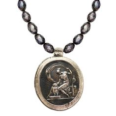 Athena Intaglio Necklace
