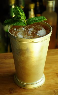 Classic Mint Julep - perfect for Derby Day celebrations