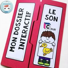 French Phonics Resources: dossier interactif – le son A. French interactive lapbook to practice the sound A, as in Avion, tomAte, drAgon, etc Education And Literacy, Kindergarten Literacy, Kids Education, Sound C, French Alphabet, Phonics Words, French Immersion, Learn Art, France