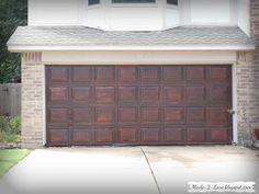 diy faux wood garage doors. Faux Garage Door Tutorial | For The Home Pinterest Garaje, Puertas Y Tutoriales Diy Wood Doors